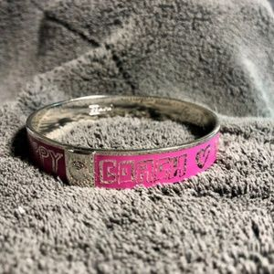 Coach Poppy Hot Pink Bangle